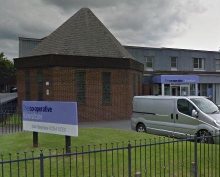 Co-op Funeralcare, Blackburn