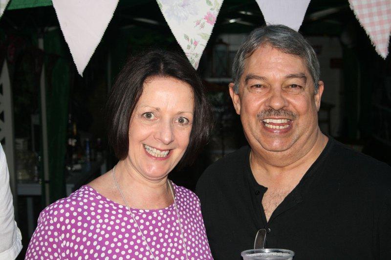 Neil And Glenda at Taryn's Birthday Party June 2016