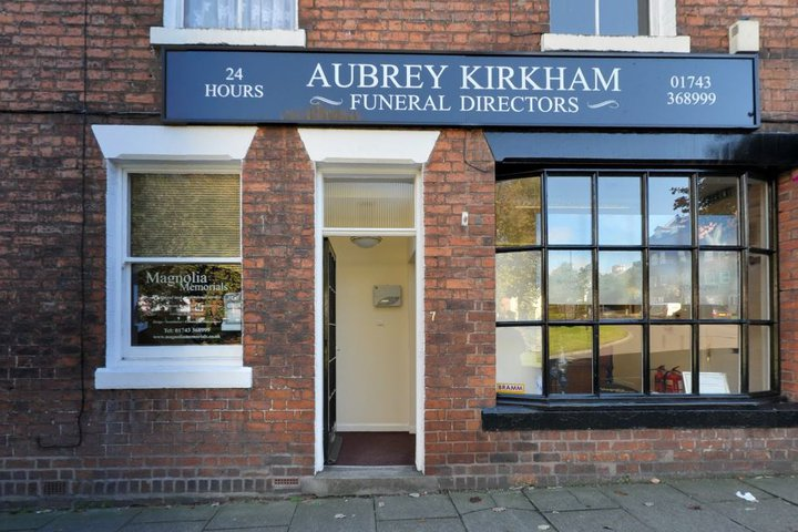 Aubrey Kirkham Funeral Directors, Shrewsbury