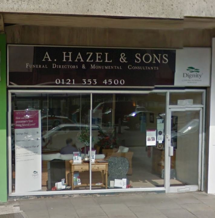 A Hazel & Sons Funeral Directors, Chester Road, West Midlands, funeral director in West Midlands