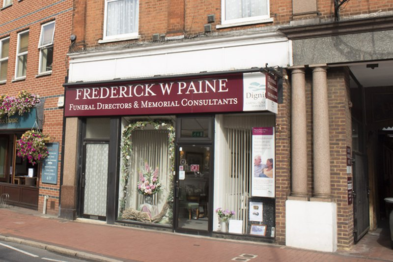 Frederick W Paine Funeral Directors, Raynes Park, London, funeral director in London