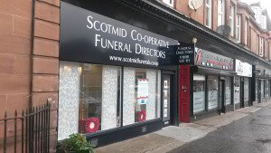 Scotmid Funerals, Uddingston, South Lanarkshire, funeral director in South Lanarkshire