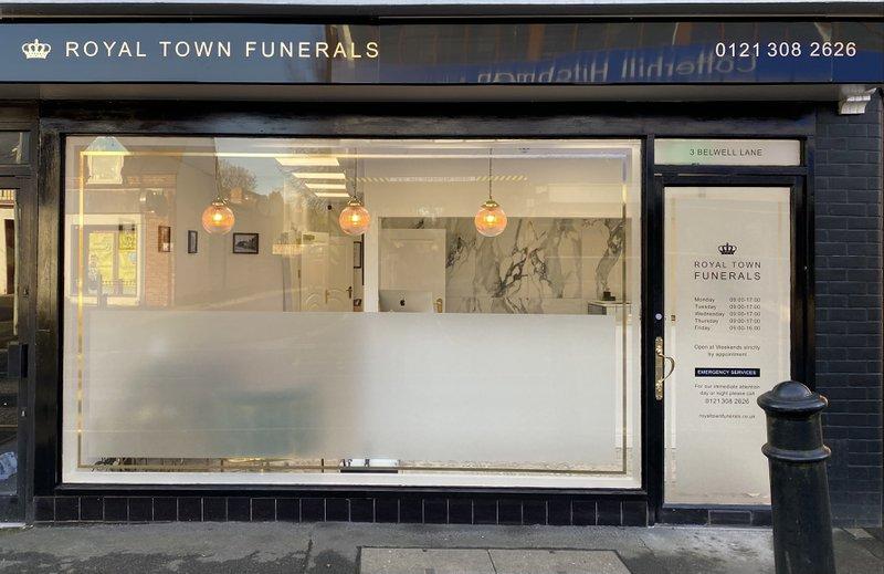 Royal Town Funerals, West Midlands, funeral director in West Midlands