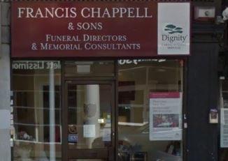Francis Chappell & Sons Funeral Directors, Upper Norwood, London, funeral director in London