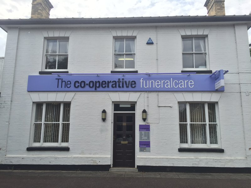 The Co-operative Funeralcare Kettering, Northamptonshire, funeral director in Northamptonshire