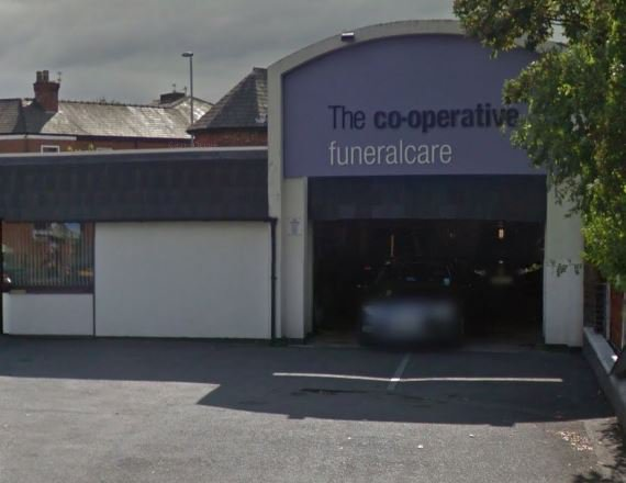 Co-op Funeralcare, Warrington