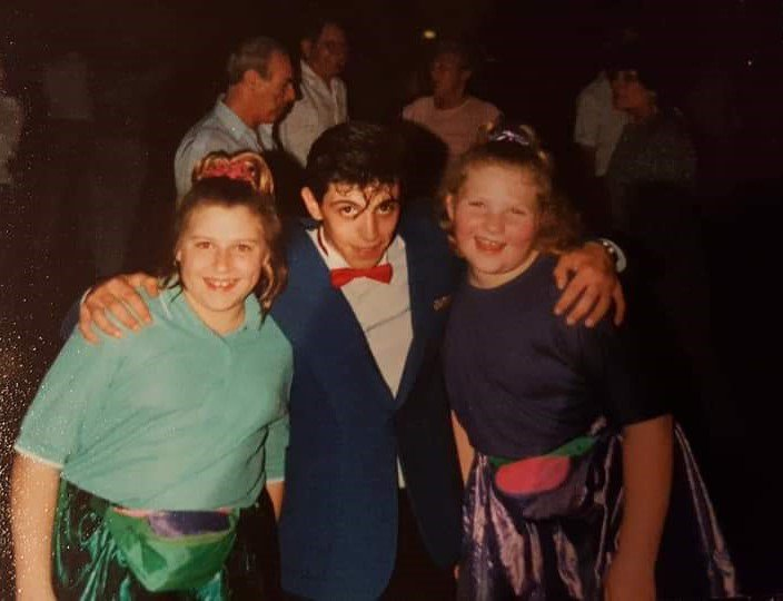 Disco dancing girls, we loved those skirts! Pontins Holiday club x