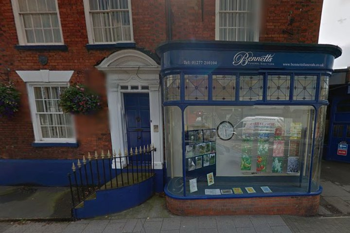 Bennetts Funeral Directors, Brentwood