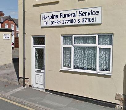 Harpins Funeral Service, Horbury