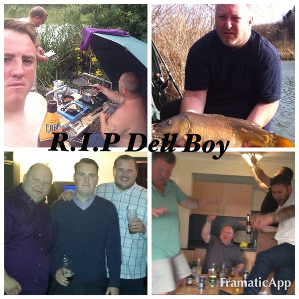 R.I.P Dell Boy a true gentleman that will be missed by so many. Reading through the massages just shows what a remarkable man you was. We shared some great times and you will never be forgotten. X