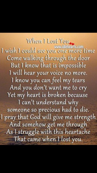 Nanny .. Some days are harder than others .. Today's been one of the hard ones .. Ones when I've wanted to pick up the phone or pop up the flat .. Miss u like crazy love u forever xx