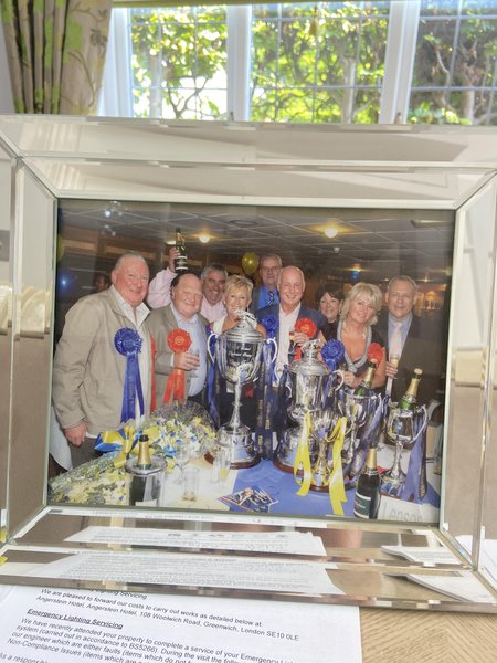 Winning all the trophies at The William Hill Festival in Sunderland 2008