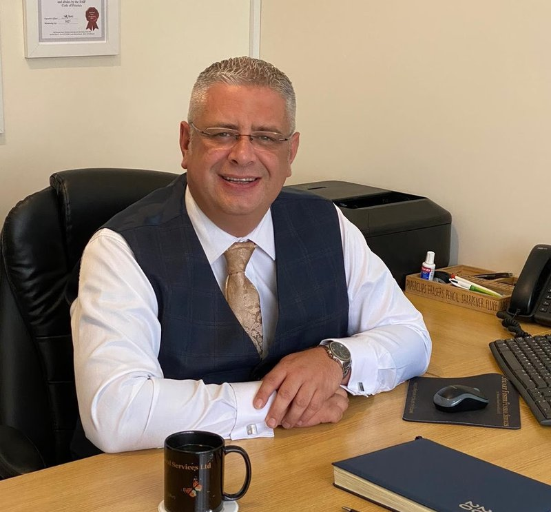 Stuart Foster Funeral Services, Somerset, funeral director in Somerset