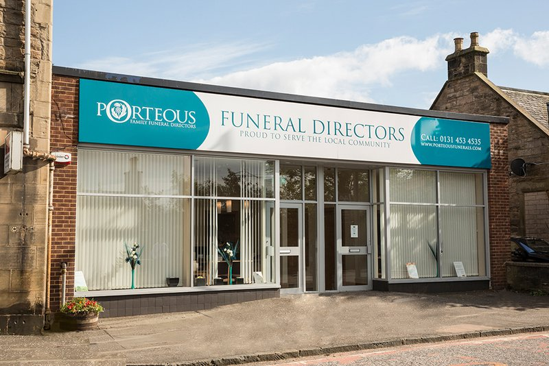 Porteous Family Funeral Directors, Juniper Green, City of Edinburgh, funeral director in City of Edinburgh