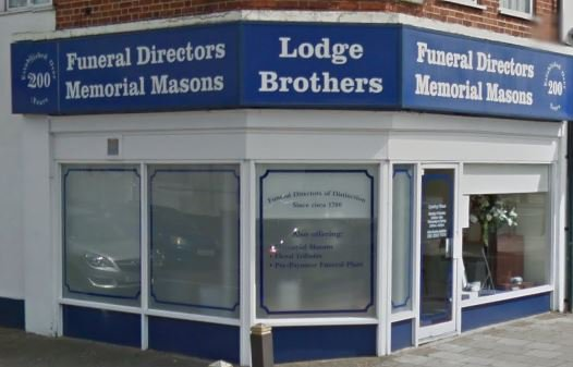 Lodge Bros (Funerals) Ltd, Feltham Staines Rd