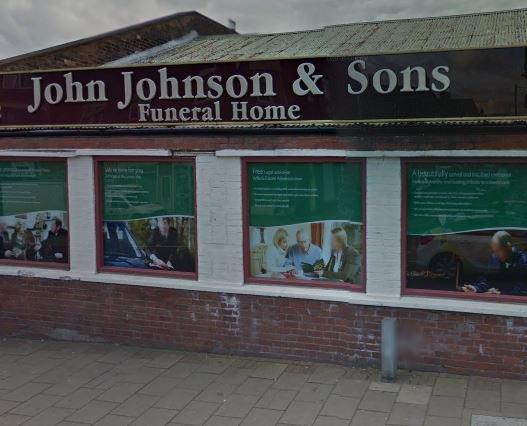 John Johnson Funeralcare, Tunstall