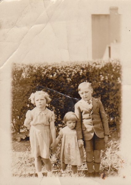 Jack with Margaret and Barbara