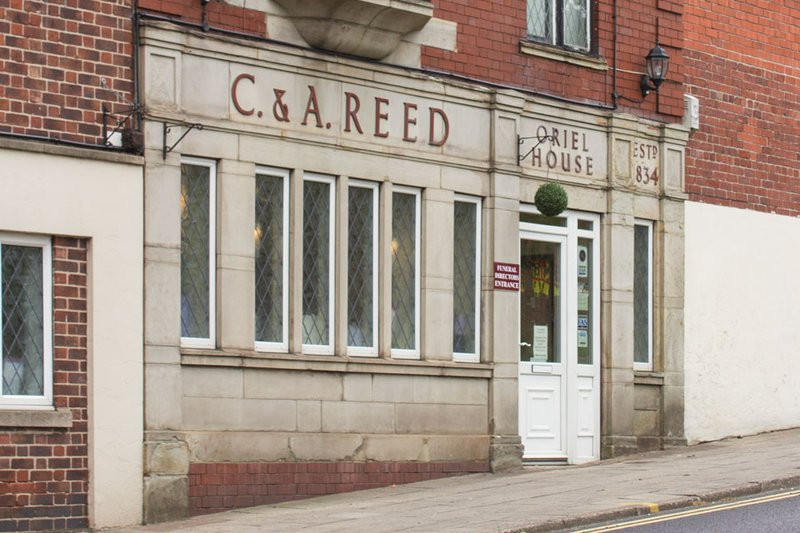 C & A Reed Funeral Directors, South Yorkshire, funeral director in South Yorkshire