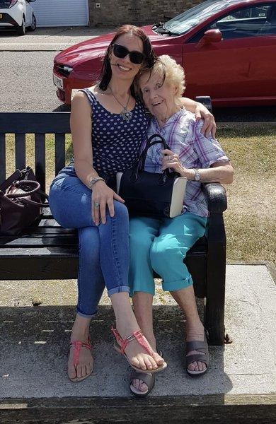 My lovely Great Auntie Rita, rest in peace xxx