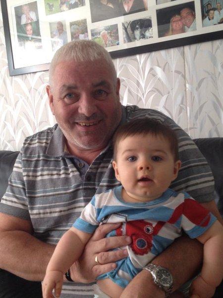 Riley & his Grandad 💙