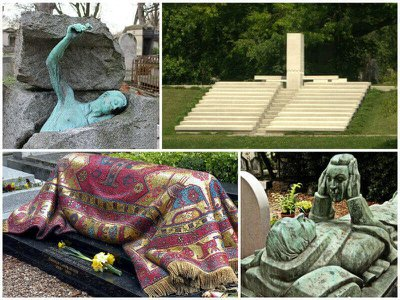 10 beautiful and unusual graves