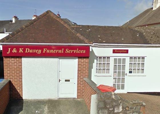 J & K Davey Funeralcare, Kingsteignton