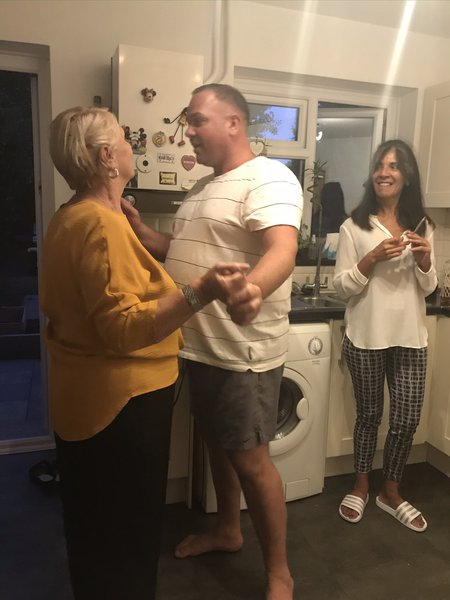 Paul with his mum and my mum ❤️