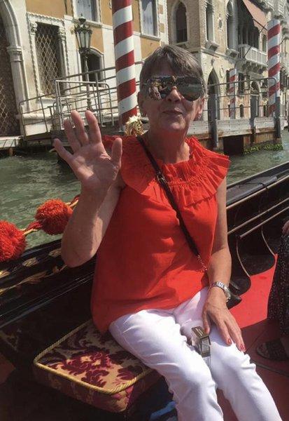 Mum in Venice x