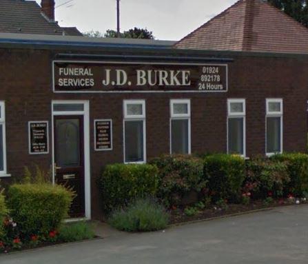 J D Burke Funeral Directors, Normanton