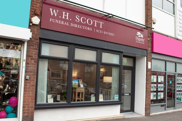 W H Scott & Son Funeral Directors, Rubery