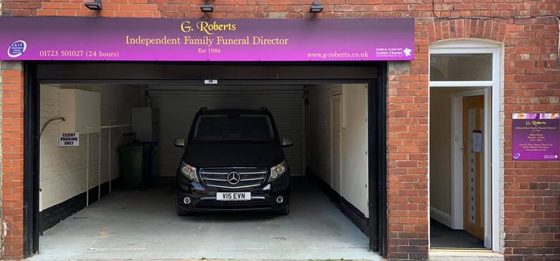 G Roberts Independent Family Funeral Director, North Yorkshire, funeral director in North Yorkshire