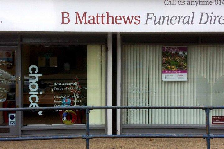 B Matthews Funeral Directors, Park Gate