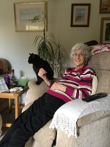 Jean and her lovely Bertie 2019