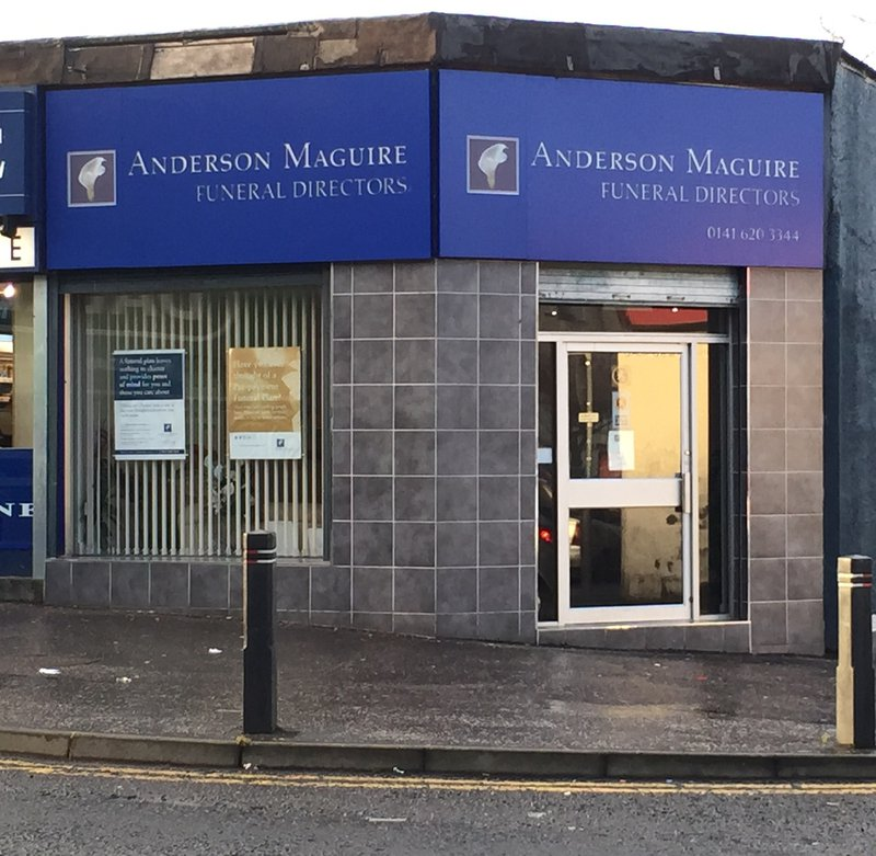 Anderson Maguire Thornliebank, City of Glasgow, funeral director in City of Glasgow