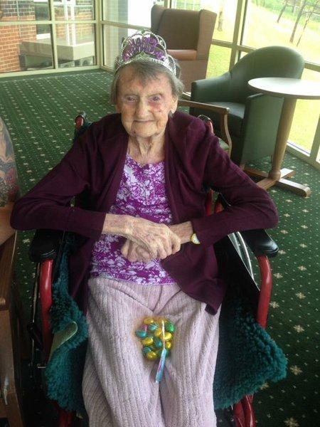 Nanny Ena's 101st birthday