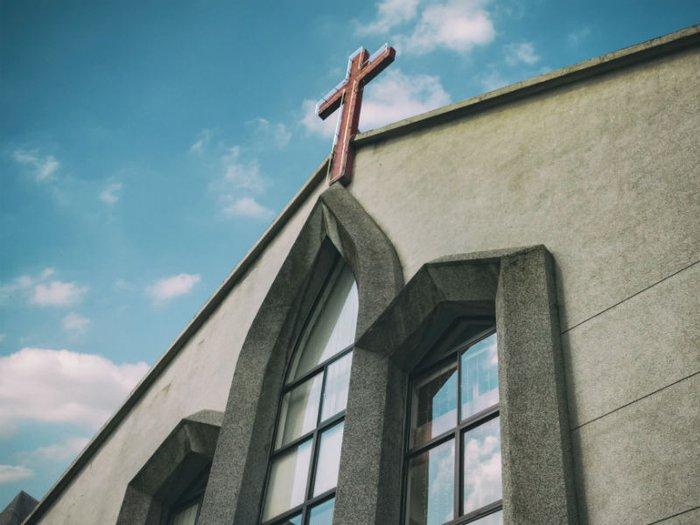 exterior of a chapel