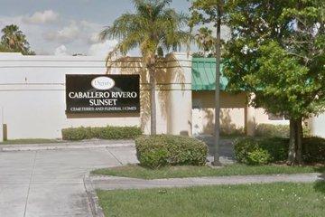 Caballero Rivero Funeral Home, Sunset