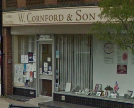 W Cornford & Son Funeral Directors, Hove Queens Parade