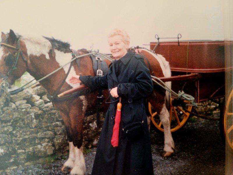 Ellen in Ireland in the 1990s