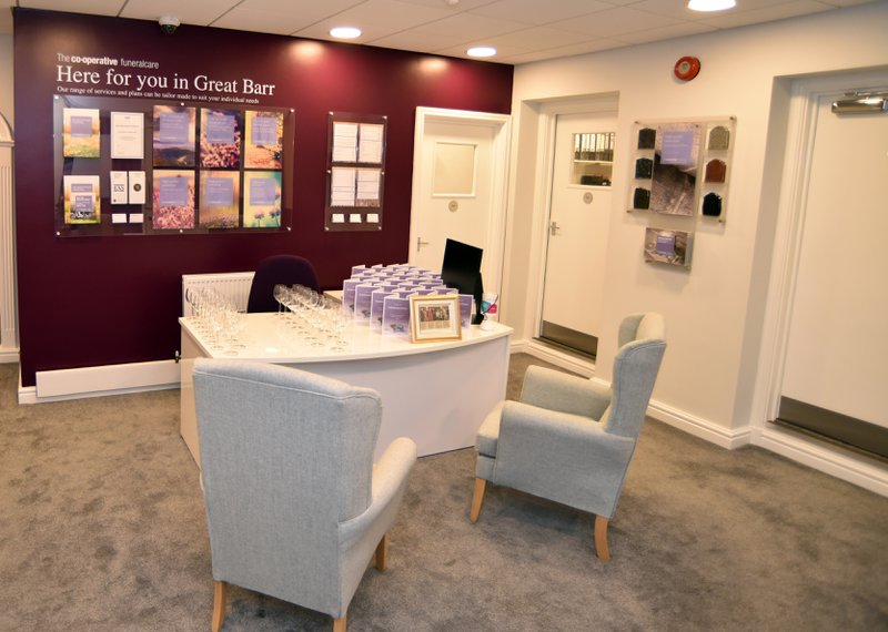 The Co-operative Funeralcare Great Barr, Birmingham, funeral director in Birmingham