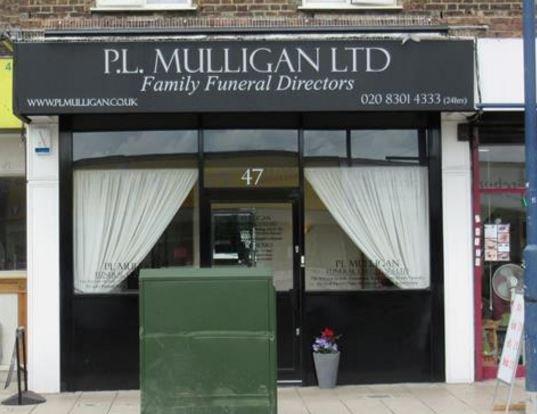 P L Mulligan Funeral Directors, Welling, Bexley, funeral director in Bexley