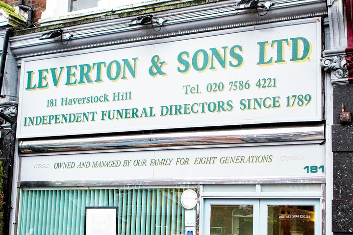 Leverton & Sons Ltd, Hampstead
