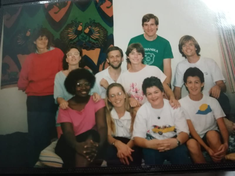 We came to know and love Keith as fellow teachers and workers in Zimbabwe in the late 1980s and early 1990s. We thank God for our shared lives with Keith as young adults.