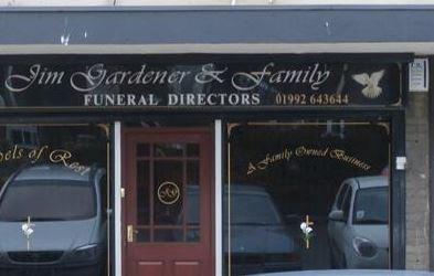 Jim Gardener & Family Funeral