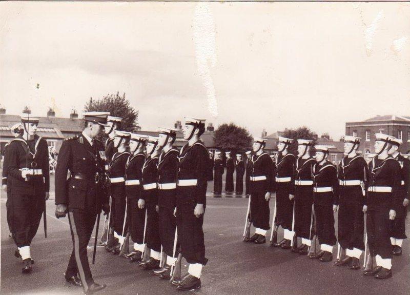 HMS ST VINCENT 1958