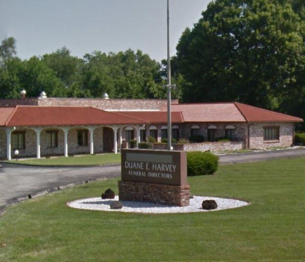 Harvey Duane E Funeral Home