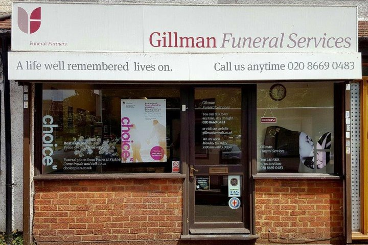 Gillman Funeral Service, Carshalton