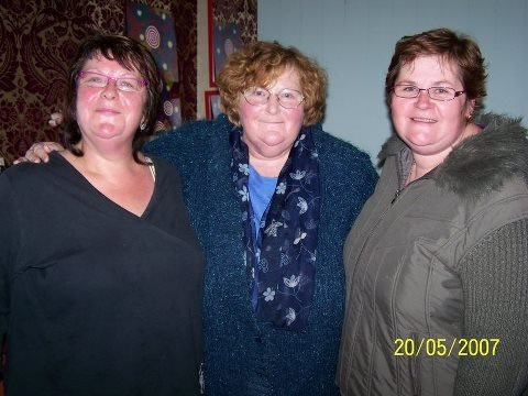 Rosemary, Margaret and Mary. Alices 3 daughters