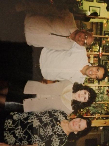 Myself sharon, mum and dad new years eve dance x