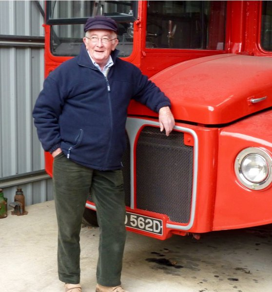 You and auntie Dorothy done a great job 9n this london bus